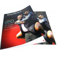 250gsm matt art paper,  matt varnish for the cover Printing Trade Magazines 210 * 285mm Manufactures