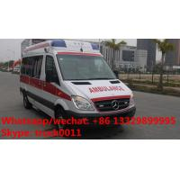 Quality high quality BENZ 4*2 gasoline Emergence ambulance Vehicles, 2017s best seller gasoline ICU ambulance for sale for sale