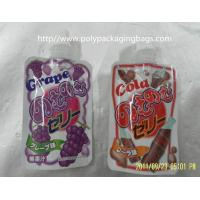 Quality fruit shape packaging pouch reseable stand up pouch packaging bags with spout for sale