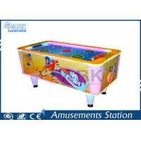 Supermarket Kids Coin Operated Game Machine / Air Hockey Table Manufactures