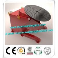 Bench Top Pipe Welding Positioner , Tilt And Rotate Positioner Welding Turntable Manufactures