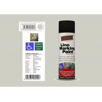 AEROPAK for wall with ROHS 500ml matt grey white Line Marking Spray Paint Manufactures