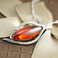Pendant, Made of 925 Sterling Silver with Zircon Materials  Manufactures