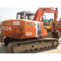 12 Ton Crawler Hydraulic Excavator Hitachi EX120 - 2 With 3 Years Warranty Manufactures