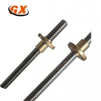 Stainless Steel Trapezoidal Thread 8mm Lead Screw with Brass Nut Manufactures