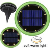 China Green Warm White 8LEDs IP65 Solar Landscape Lighting for Lawn Yard Patio on sale