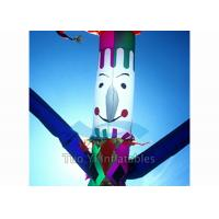Quality Advertising Inflatable Clown Sky Dancers / Air Dancer 6M Tube Dude for Outdoor for sale