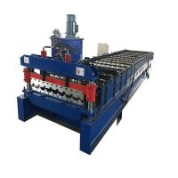 Color Steel Roofing Sheet Roll Forming Machine 988 Trapezoid 6.2 * 1.3 * 1.6m Manufactures