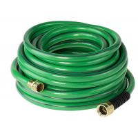 Portable Garden PVC Hose Non Toxic With Copper Brass Joint / Metal Fittings Manufactures