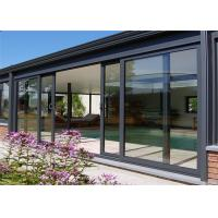 Buy cheap Hot Sale High Quality Aluminum Door With Glazed Glass For House Building From from wholesalers