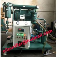 Quality insulation oil purification plant, transformer oil purifier with moisture tester 4ppm for sale