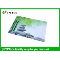 Full Color Print Beautiful Table Mats , Bright Coloured Placemats HKP0110-21 Manufactures