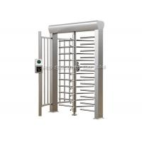 304 Stainless Steel Full Height Turnstiles Access Control Security Turnstile Manufactures