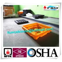 Drum Spill Containment Pallets , Pallet Containment Tray For Spilled Fluids Manufactures