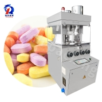 China Zp 27D 120kn Large Pressure Rotary Tablet Press Machine With Deduster on sale