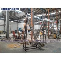 Protein Powder Filling Flexible Screw Conveyor 159mm Feeding Pipe Manufactures