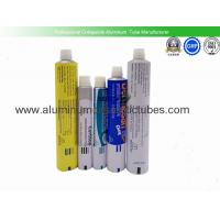 Quality Eco Friendly Aluminium Collapsible Tubes , Metal Squeeze Tubes For Cosmetics for sale