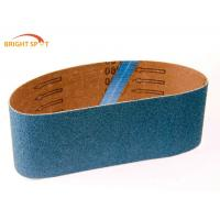 China Anti Static Abrasive Sanding Belts 2 X 42 P150 Grit Casting Polishing With Aluminum Oxide on sale