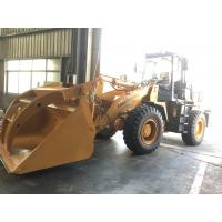 Lonking 3 ton front end loader with steel pipe clamp for sale Manufactures