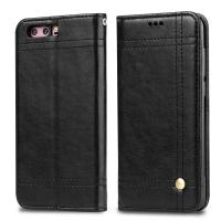 Huawei Honor 9 Magnetic Leather Case Black Book Style Two Card Slot 68.9g Manufactures