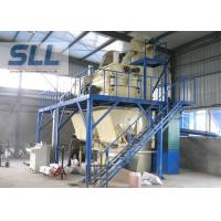 Self Leveling Mortar Mixing Equipment With Packaging Machine Easy Operate Manufactures
