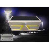 COB LED Solar Motion Light , Adjustable Solar Garden Wall Lights ABS Material Manufactures