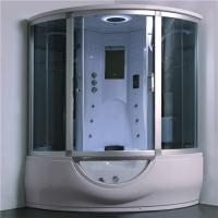 Buy cheap Luxury Steam Shower Bathtub Combo With Spa Tub , Home Steam Shower Units from wholesalers