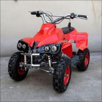 China Hot Selling Mini 49CC Foul Wheel Quad Bike ATV 49cc with LED Head Lights on sale