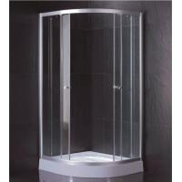 Clear Tempered Glass Shower Cabin With 2 Fixed Panel And 2 Sliding Doors Manufactures
