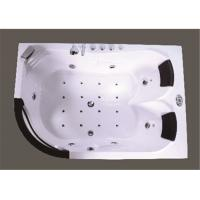 Customized Modern Corner Whirlpool Bathtub Freestanding Spa Tub Computer Control Manufactures