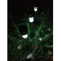 Quality Metal Mini Solar Garden Lights , Solar LED Yard Lights With Rechargeable Battery for sale