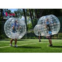 Popular Inflatable Water Walking Ball , Bubble Soccer Ball For Entertainment Manufactures