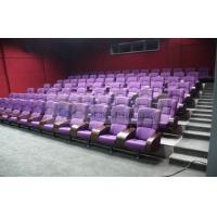 Comfortable 3D theater seating furniture / 4D movie theater seats for auditorium Manufactures