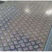 Roll Aluminium Floor Plate 2mm Thick , Aluminum Tread Plate Embosssed Sheet Manufactures