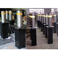 IP 68 Heavy Safety Automatic Retractable Bollards 275 mm Diameter Manufactures
