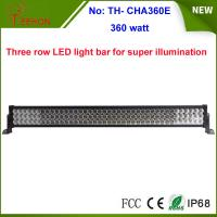 360w 25200lm three row LED work light bar with spot, flood or combo beam types for choice Manufactures