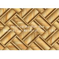 Buy cheap Printable Hot Stamping Foil Rolls , Pvc Membrane Foil For Doors Strong Adhesion from wholesalers