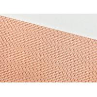 Brass Fine Copper Mesh Screen Customized Cloth Length SGS Certification Manufactures