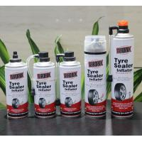 Aerosol Tubeless Tyre Liquid Sealant Non Toxic And Odorless For Car / Motorcycle Manufactures