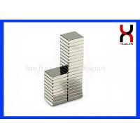 Rare Earth Strong NdFeB Motor Magnetic Block Industrial Rare Earth Rectangle Magnet Manufactures
