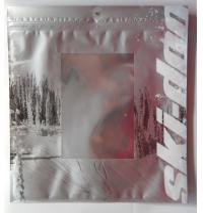 Metalized Silver Ziplock Foil Bag Pouches Manufactures
