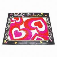 Laptop Sticker/Skin with Non-stick Dirt, Made of Laser Paper and Acrylic Manufactures