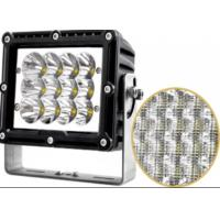 Square  60w Car LED Headlights For Truck SUV ATV CE RoHS Certification Manufactures