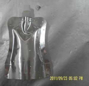 Quality 16 oz or 500ml Aluminum Foil Valve Bag For Liquid / Oil / Detergent With Tap Valve for sale