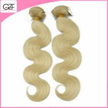 Newest Hair Style 613# Human Hair Free Brazilian Weave Bundles Body Wave Blonde Human Hair Manufactures