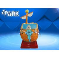Funny Pirate Ship Swing Kiddy Ride Machine / Children'S Coin Operated Rides Manufactures