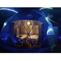 Outdoor PVC Heavy Duty Geodesic Tent Dome Waterproofing Half Sphere Manufactures