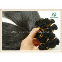 Hand tied weaviing Brazilian 5A virgin remy hair,YAKI straight hair extension Manufactures
