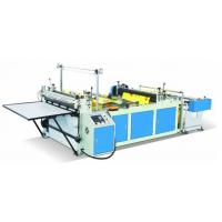 Blue Color Non Woven Fabric Cutting Machine , Pp Spunbond Nonwoven Fabric Machine Manufactures