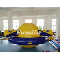 Planet Saturn Shape Inflatable Water Toys Floating For Water Park Playing Manufactures